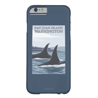Orca Whales #1 - San Juan Island, Washington Barely There iPhone 6 Case