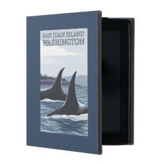Orca Whales #1 - San Juan Island, Washington iPad Case