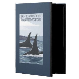 Orca Whales #1 - San Juan Island, Washington iPad Air Cover