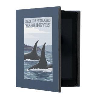 Orca Whales #1 - San Juan Island, Washington iPad Covers