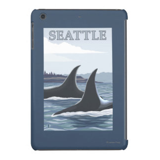 Orca Whales #1 - Seattle, Washington iPad Mini Retina Case