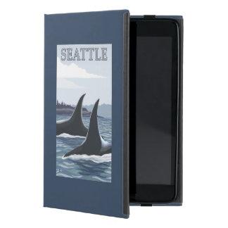 Orca Whales #1 - Seattle, Washington Case For iPad Mini