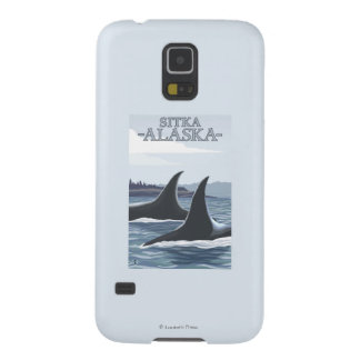 Orca Whales #1 - Sitka, Alaska Case For Galaxy S5