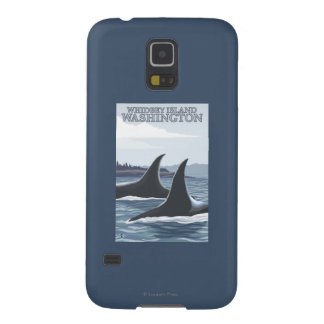 Orca Whales #1 - Whidbey, Washington Case For Galaxy S5