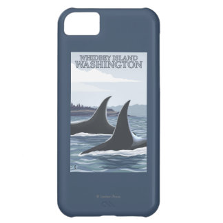 Orca Whales #1 - Whidbey, Washington Cover For iPhone 5C