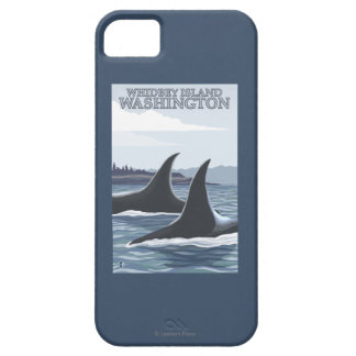 Orca Whales #1 - Whidbey, Washington iPhone SE/5/5s Case