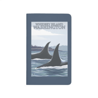 Orca Whales #1 - Whidbey, Washington Journal
