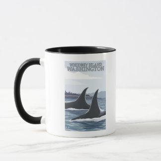 Orca Whales #1 - Whidbey, Washington Mug