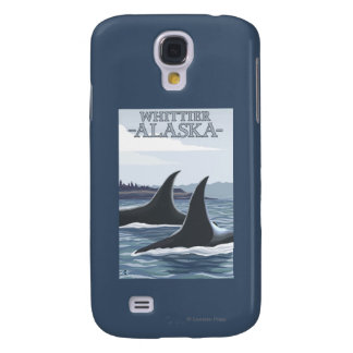 Orca Whales #1 - Whittier, Alaska Samsung Galaxy S4 Cover