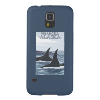 Orca Whales #1 - Wrangell, Alaska Case For Galaxy S5