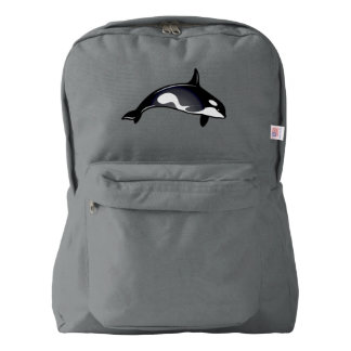 Orca Whales American Apparel™ Backpack