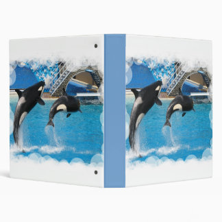 Orca Whales Binder