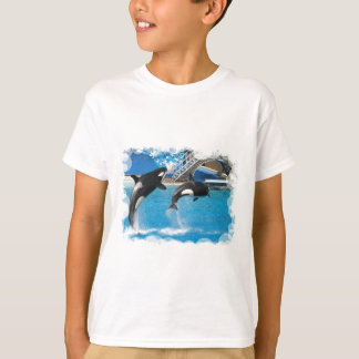 Orca Whales Children's T-Shirt