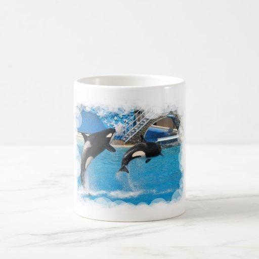 Orca Whales Coffee Mug