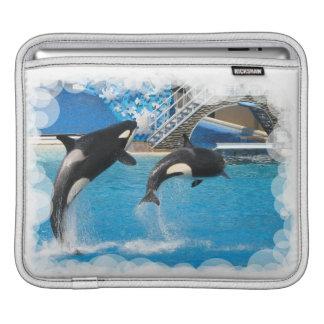 Orca Whales iPad Sleeve