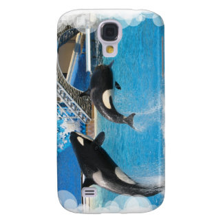 Orca Whales iPhone 3G Case Galaxy S4 Covers