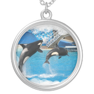 Orca Whales Necklace