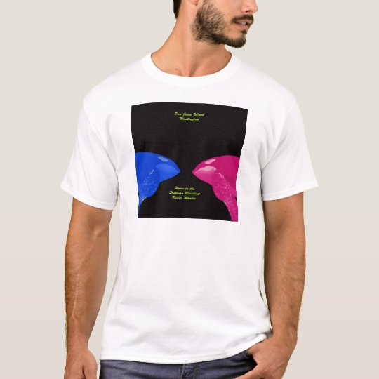 Orca Whales Nose to Nose T-Shirt