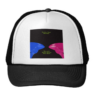 Orca Whales Nose to Nose Trucker Hat