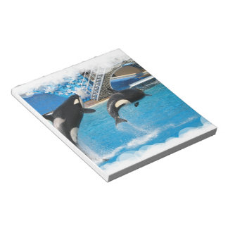 Orca Whales  Notepad