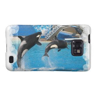 Orca Whales  Samsung Galaxy Case Galaxy SII Case