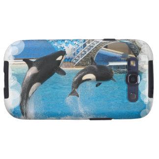 Orca Whales  Samsung Galaxy Case Galaxy S3 Cases