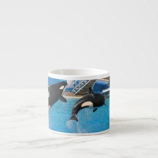 Orca Whales Specialty Mug Espresso Mugs