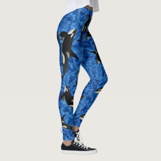"""Orca Wild"" Killer Whale Leggings"