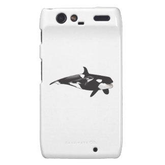 ORCA Y BECERRO MOTOROLA DROID RAZR CARCASA