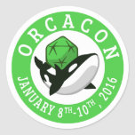 OrcaCon sticker sheets