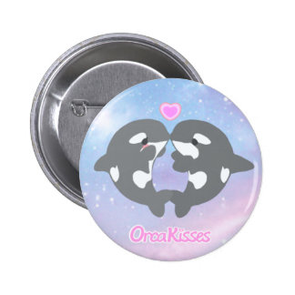 OrcaKisses brand logo Button