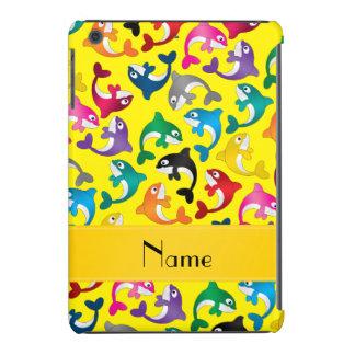 Orcas amarillas conocidas personalizadas del arco carcasa para iPad mini