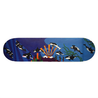 Orcas Ascending Skateboard Deck