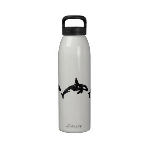 Orcas Botella De Beber
