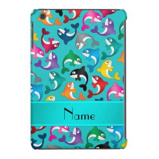 Orcas conocidas personalizadas del arco iris de la funda para iPad mini retina