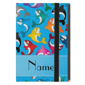 Orcas conocidas personalizadas del arco iris del iPad mini funda