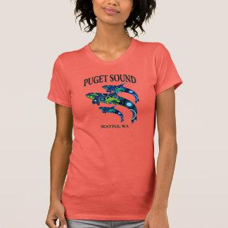 Orcas de Puget Sound Camisetas