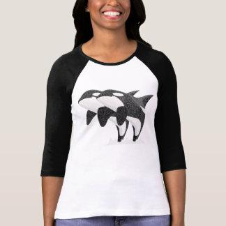 Orcas gemelas camisetas