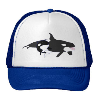 orcas trucker hat