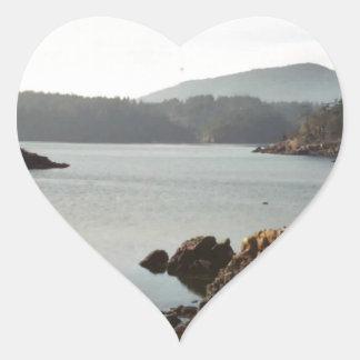 orcas heart sticker