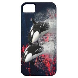 Orcas iPhone 5 Fundas