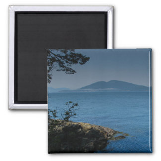 Orcas Island 2 Inch Square Magnet