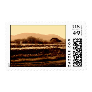 Orcas Island From Skagit Valley Postage Stamp