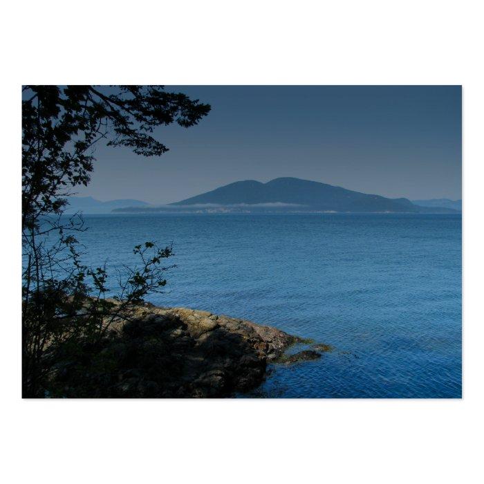 Orcas Island Large Business Card