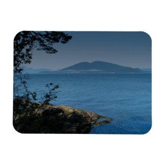 Orcas Island Rectangular Photo Magnet