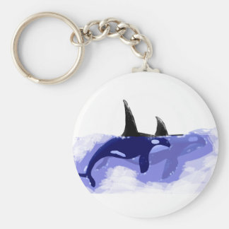 Orcas Killer Whales Key Chains