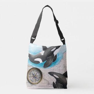 Orcas Map Crossbody Bag
