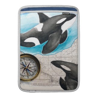 Orcas Map MacBook Air Sleeve