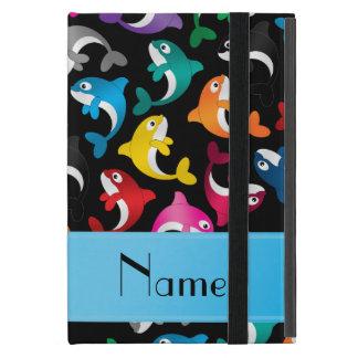 Orcas negras conocidas personalizadas del arco iPad mini funda