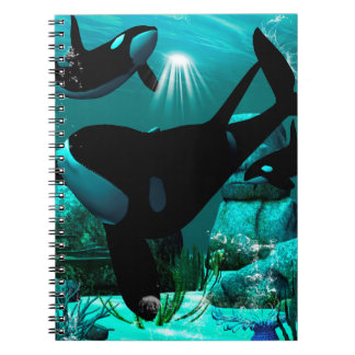 Orcas Spiral Note Book